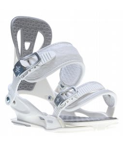 Union Flite Lady Snowboard Bindings White