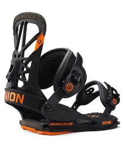 Union Flite Pro Snowboard Bindings Black