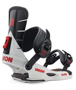 Union Flite Snowboard Bindings White/Black