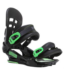 Union Flite Pro Snowboard Bindings Black/Green