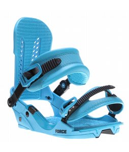Union Force Snowboard Bindings Blue