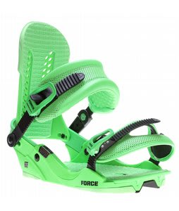 Union Force Snowboard Bindings Green