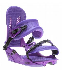 Union Force Snowboard Bindings Purple