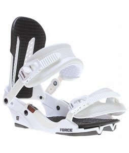 Union Force Snowboard Bindings White
