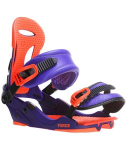 Union Force SL Snowboard Binding Purple/Orange