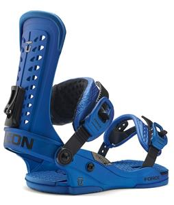 Union Force Snowboard Bindings Metal Blue
