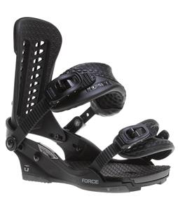 Union Force Snowboard Bindings Black