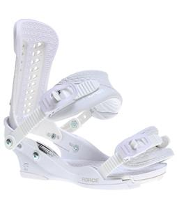 Union Force Snowboard Bindings White/10 Year
