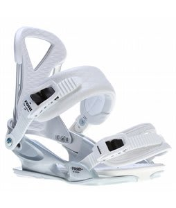 Union Rosa Snowboard Bindings Silver