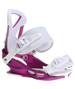 Union Rosa Snowboard Bindings Purple