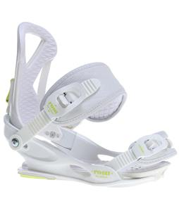Union Rosa Snowboard Bindings White