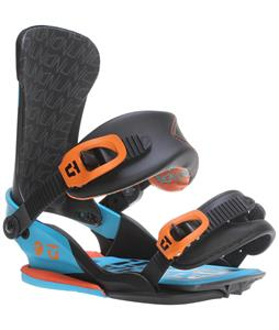 Union Scott Stevens Snowboard Bindings Blue/Orange
