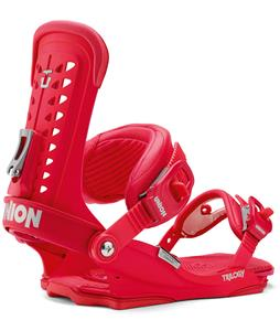 Union Trilogy Snowboard Bindings Red