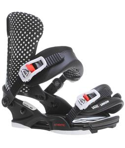 Union Vans 20th Snowboard Bindings White/Black/Red