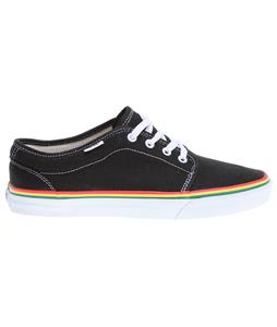 Vans 106 Vulcanized Shoes (Hemp) Black/Rasta