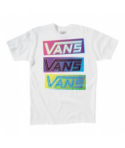 Vans 3 Stack T-Shirt White