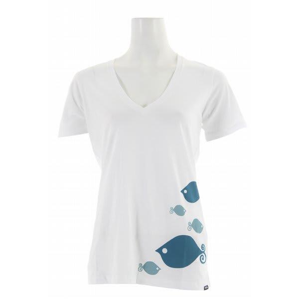 Vans Ando And Friends Fish Print V-Neck Shirt