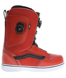 Vans Aura Snowboard Boots Red/Black