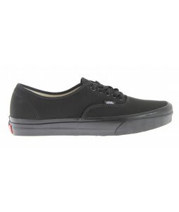 Vans Authentic Skate Shoes Black/Black