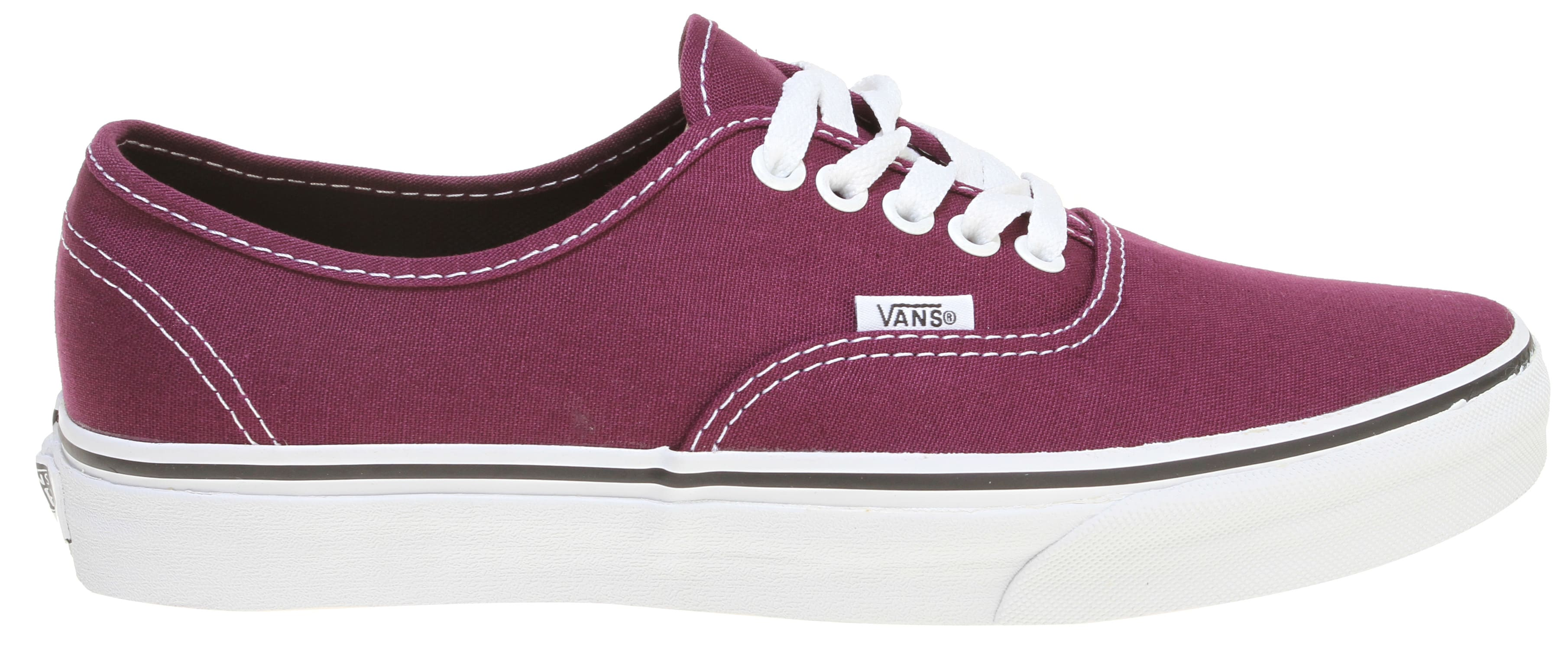 On Sale Vans Authentic Shoes Potent Purple/Black Womens 7 Footwear