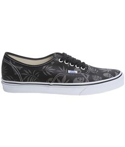 Vans Authentic Skate Shoes (Van Doren) Black/Aloha Skull