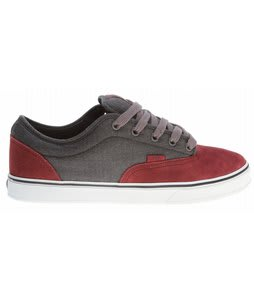Vans AV Era 1.5 Skate Shoes Oxblood/Dark Grey