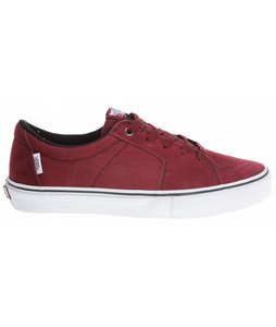Vans AV SK8 Low Skate Shoes Burgundy