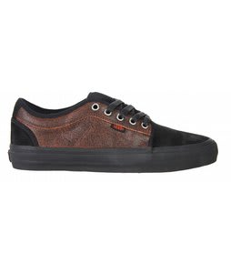 Vans Chukka Low Skate Shoes Black/Orange