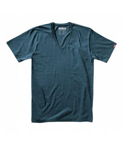 Vans Basic V-Neck T-Shirt Columbia Black Heather