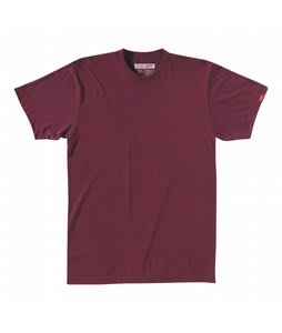 Vans Basic Crew T-Shirt Blue Burgundy Heather