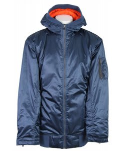 Vans Dtl Bomber Insulated Snowboard Jacket Hammered Blue