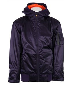 Vans Dtl Bomber Insulated Snowboard Jacket Plumeria