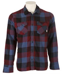 Vans Box Flannel Black/Wine