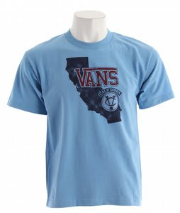 Vans California Since 66 T-Shirt Carolina Blue