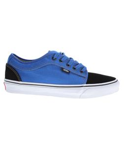 Vans Chukka Low Skate Shoes Black/Royal
