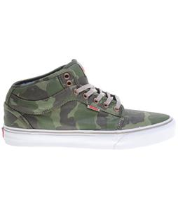 Vans Chukka Midtop Shoes (Bubble Camo) Olive