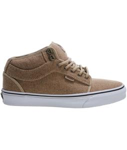 Vans Chukka Midtop Skate Shoes (Outdoor) Tan