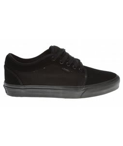 Vans Chukka Low Skate Shoes Black/Black