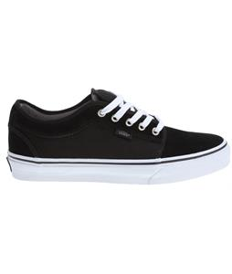 Vans Chukka Low Shoes Black/Pewter/White