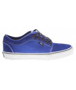 Vans Chukka Low Skate Shoes Royal/White