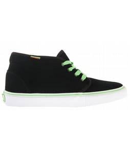 Vans Chukka Pro Skate Shoes Black/Viper Green