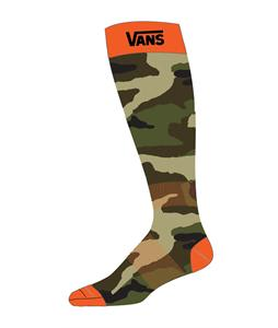 Vans Classic Midweight Socks Camo/Orange