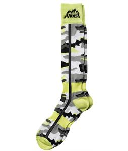 Vans Classic Snow Light Weight Socks Yellow/Camo