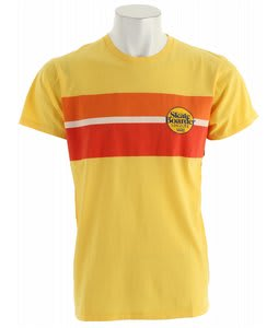 Vans Classic Stripe T-Shirt Overdye Yellow