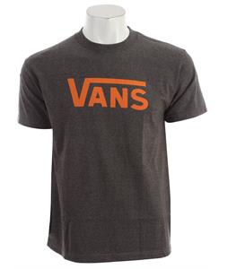 Vans Classic T-Shirt Charcoal Heather/Orange