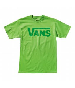 Vans Classic T-Shirt Lime/Celtic Green