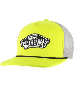 Vans Classic Patch Trucker Cap Neon Yellow