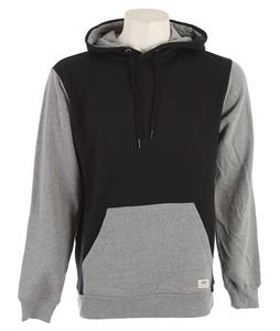 Vans Core Basics Colorblock Pullover Hoodie Black/Concrete Heather