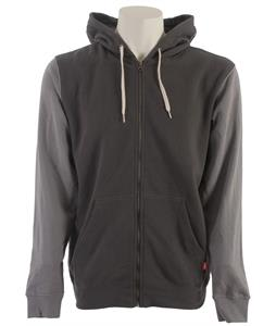 Vans Core Basics Colorblock Zip Hoodie Gravel/Frost Grey