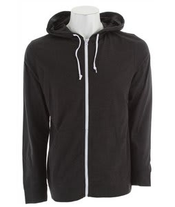Vans Core Basics Knit Zip Hoodie Black Heather